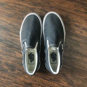 Dark Grey Slip On Vans!!